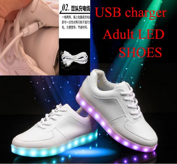 Mens Femmes Sport Light Up LED Shoes lumiNewx Knit Sneaker 4 Couleurs