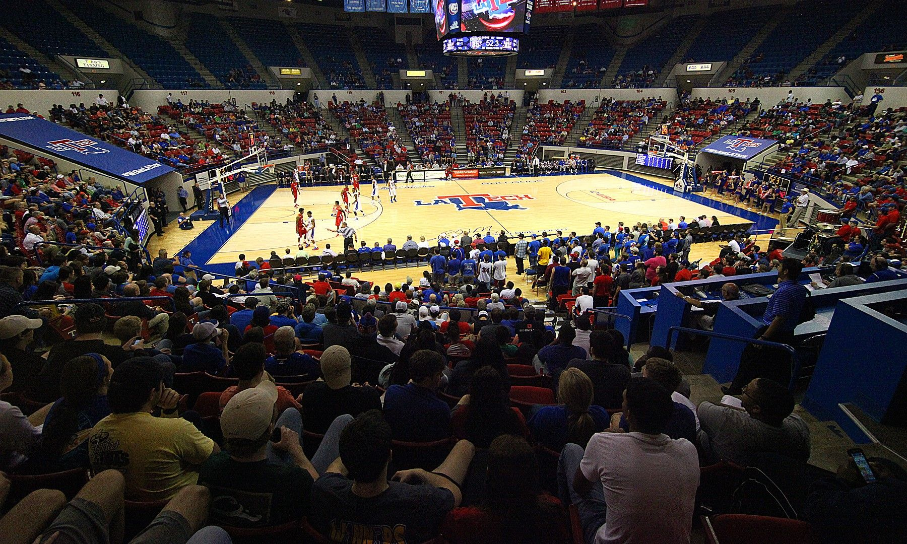 Thomas Assembly Center Facilities Louisiana Tech