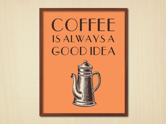 Kitchen Vintage Wall Decor Coffee Quote Vintage Kitchen Poster Quote Poster Wall Decor Art Quote Prints Kitchen Posters Coffee Quotes