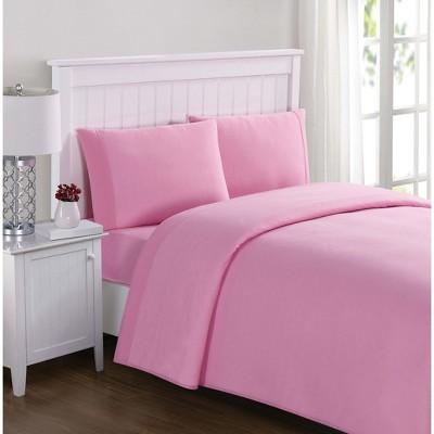Twin Anytime Jersey Sheet Set Pink My World Women S Sheet