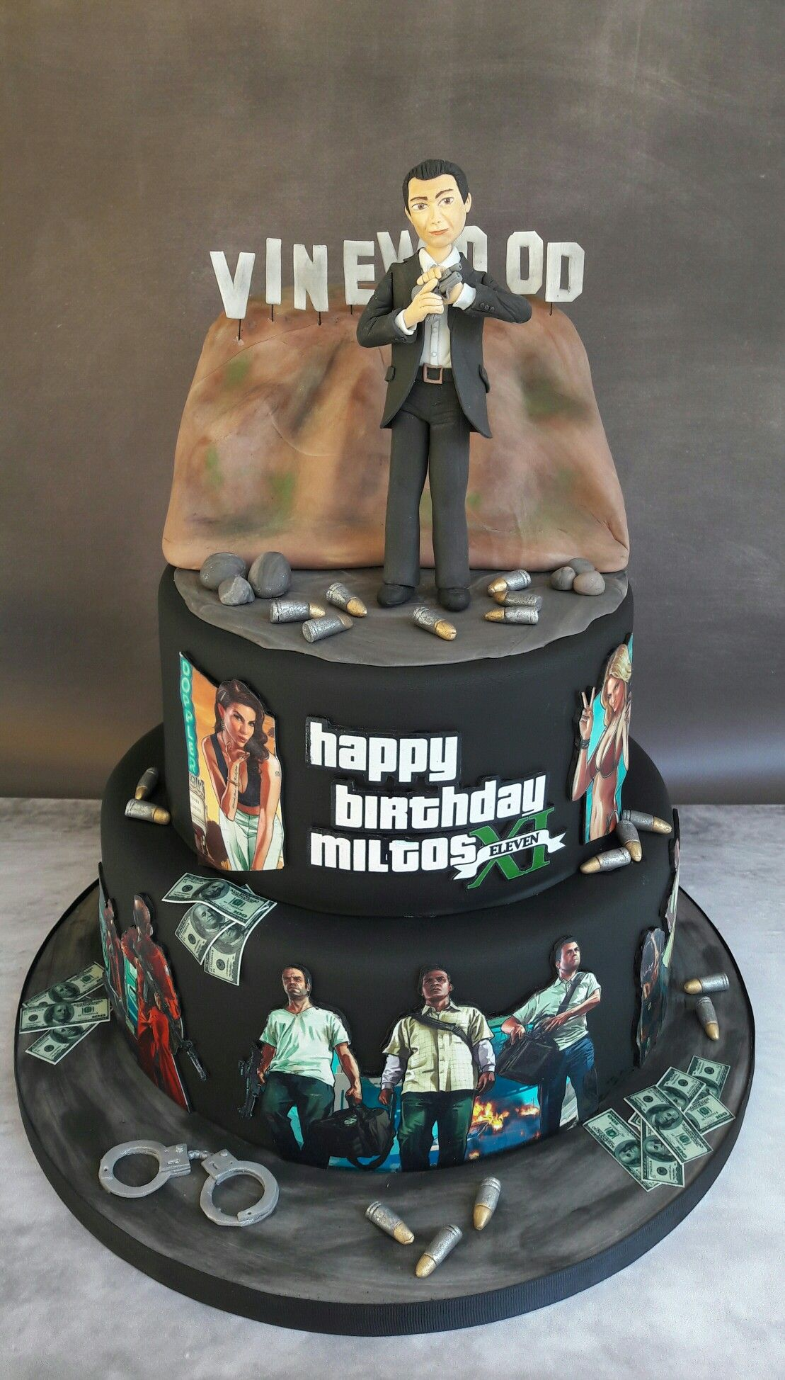 Grand Theft Auto Cake Cake Themed Cakes Birthday Party Cake