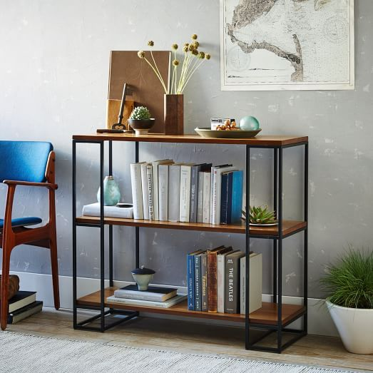 in detail furniture bookcases office short sebastian joinery bookcase of pin sebastianlowbookcase walnut the eastern