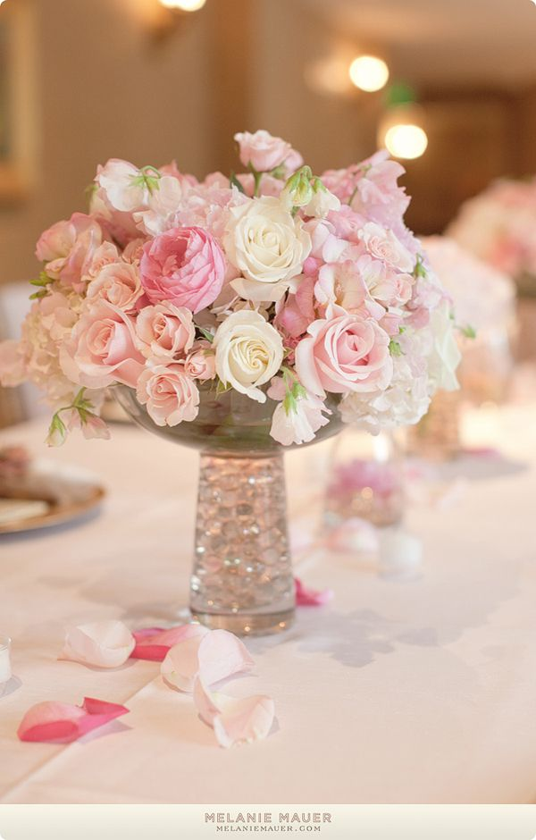 Pink Reception Wedding Flowers Decor Flower Centerpiece Arrangement Add Pic Source On Comment And We Will Update It