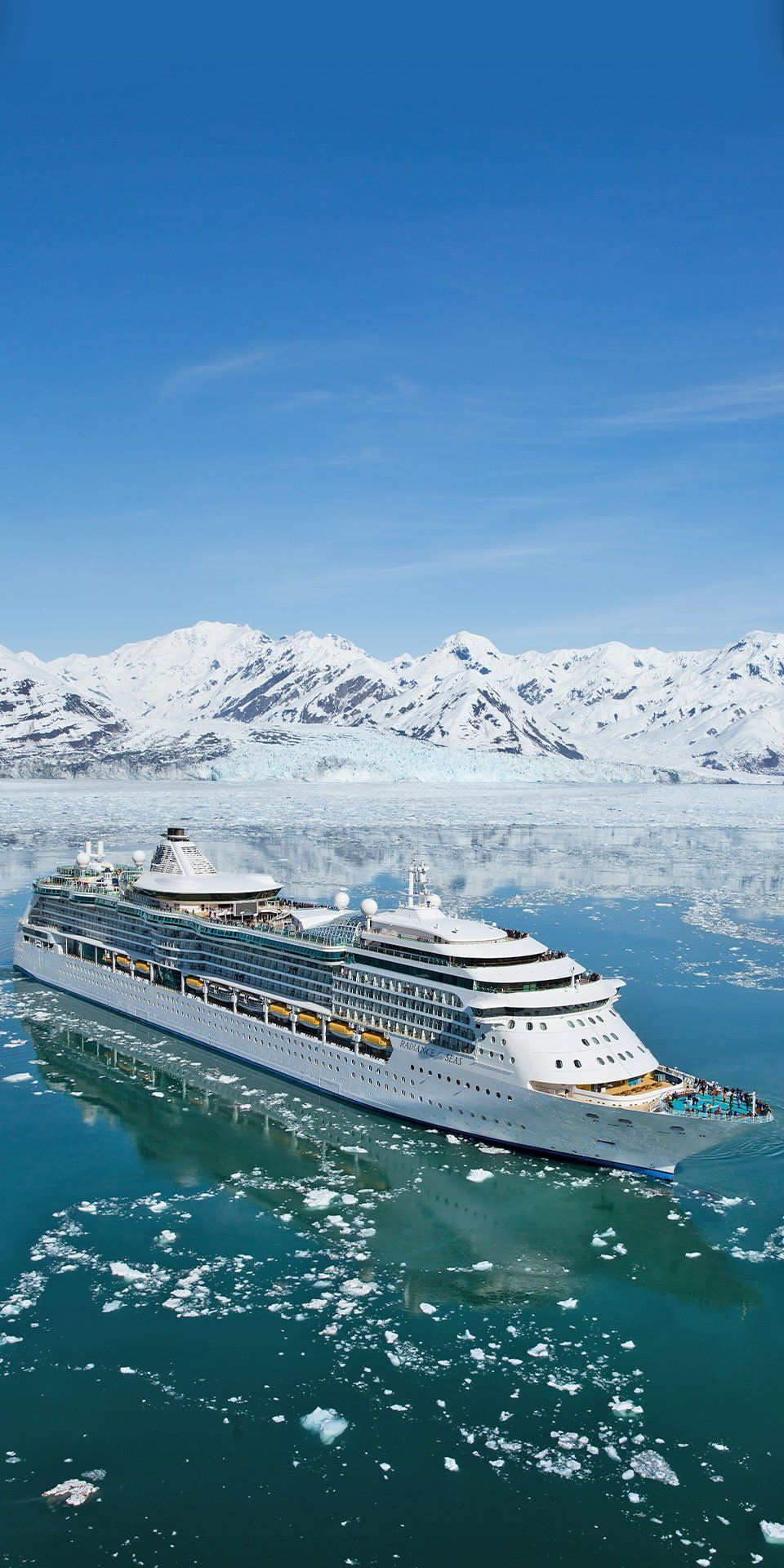 Radiance Of The Seas Next Level Glacier Gazing Is Here Boasting The Most Glass Of Any Royal Royal Caribbean Ships Cruise Photography Royal Caribbean Cruise