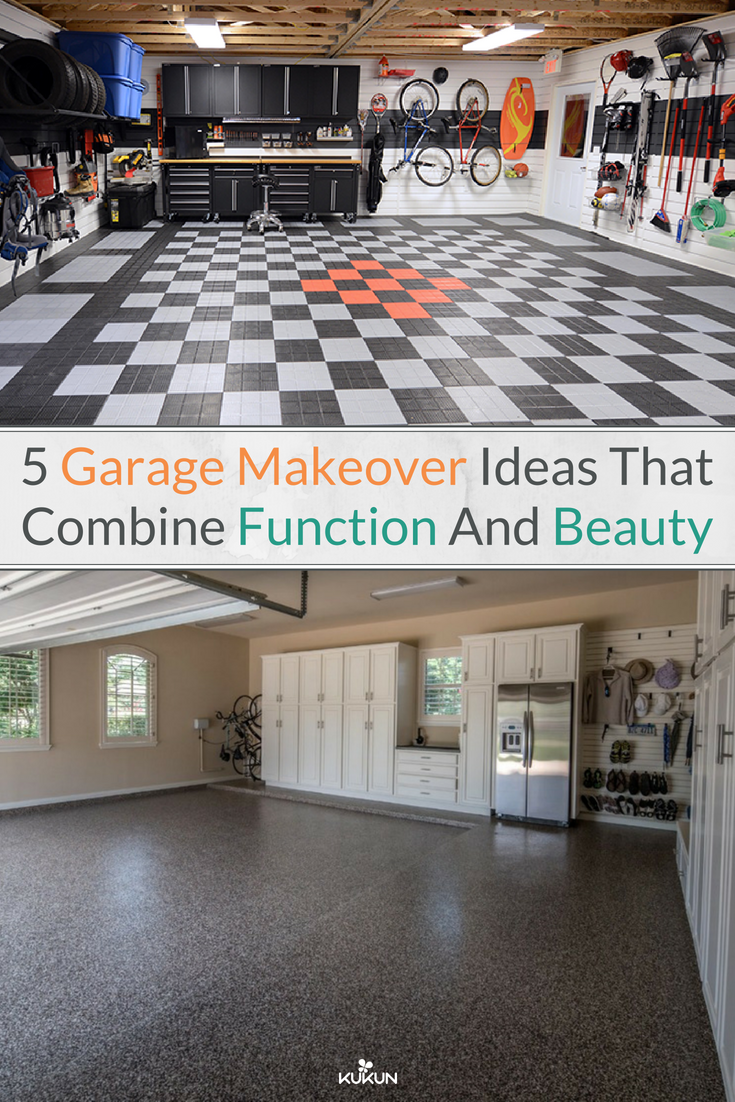5 Garage Makeover Ideas That Combine Function And Beauty