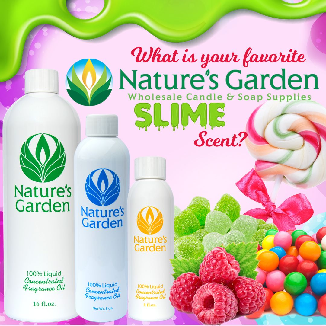 Scented Slime Can Be Made Using Natures Garden Body Safe