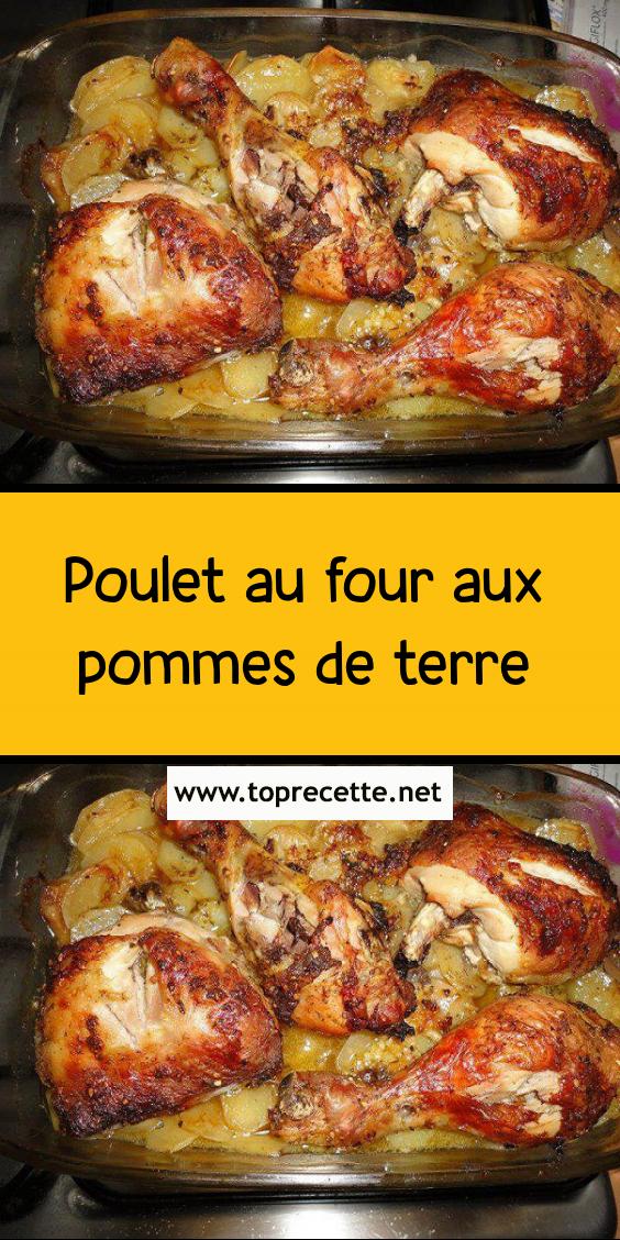 Poulet Roti Au Four Pomme De Terre Epingle Sur Poulets