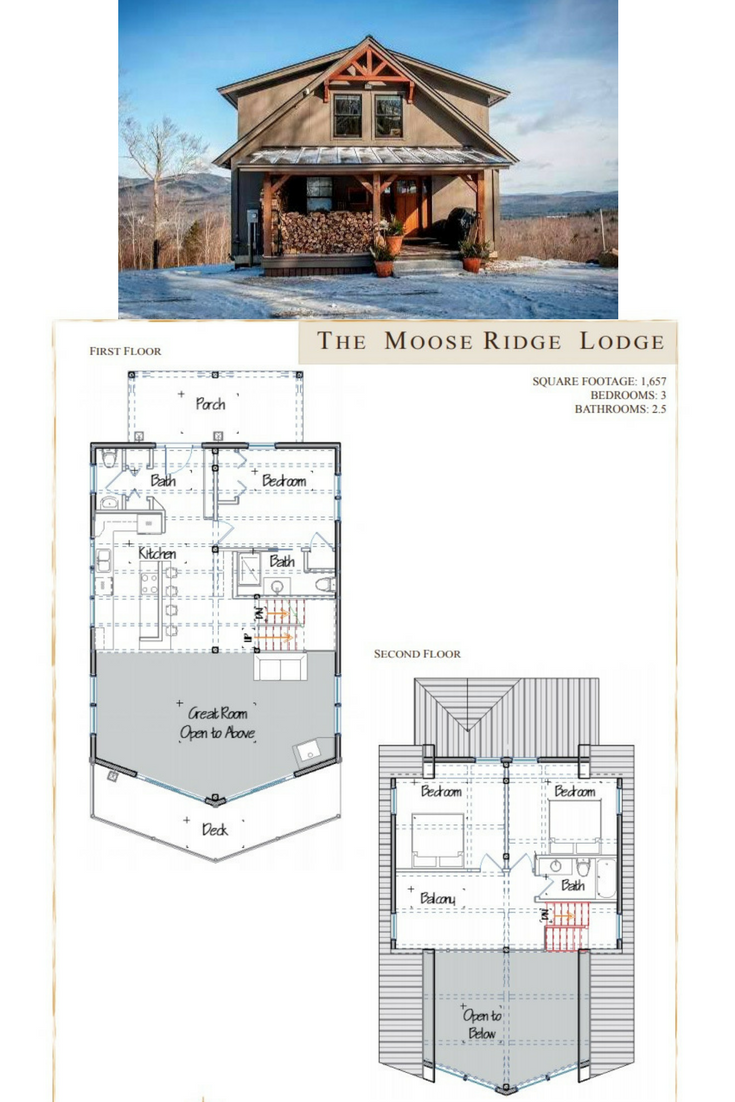Moose Ridge Lodge Barn Style House Yankee Barn Homes Barn House Design