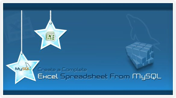 How to Create a Complete Excel Spreadsheet From MySQL Tips Pinterest
