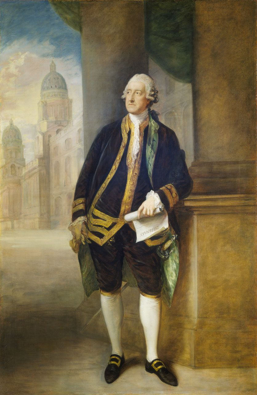 John Montagu, 1718-92, 4th Earl of Sandwich, 1st Lord of the Admiralty,1748-51, 1763-65 and 1771-82.  During the War of American Independence, he initiated notable reforms in the dockyards and ship construction, critical in the sailing navy's later success against Revolutionary France. He also initiated an attempt to reach the North Pole and was a firm supporter of the voyages of Captain Cook, who named the Sandwich Islands (Hawaii) in the Pacific after him.
