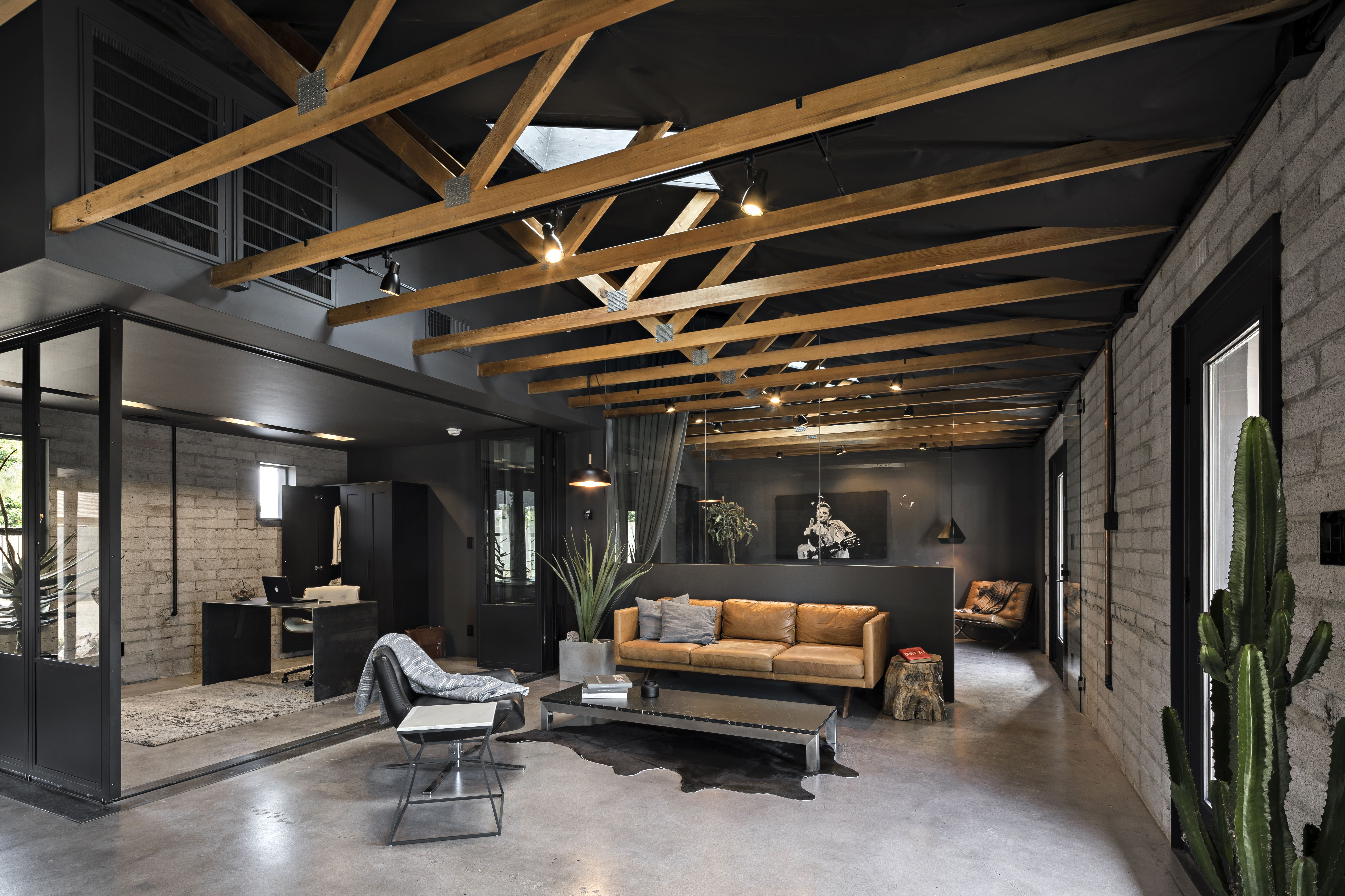 Photo 2 Of 10 In Bold Design Invigorates This Formerly Cookie Cutter Loft Style Homes Modern House Design Home