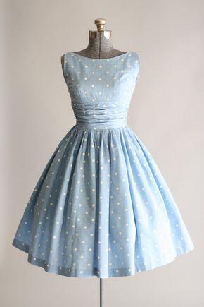 vintage 50er jahre kleider