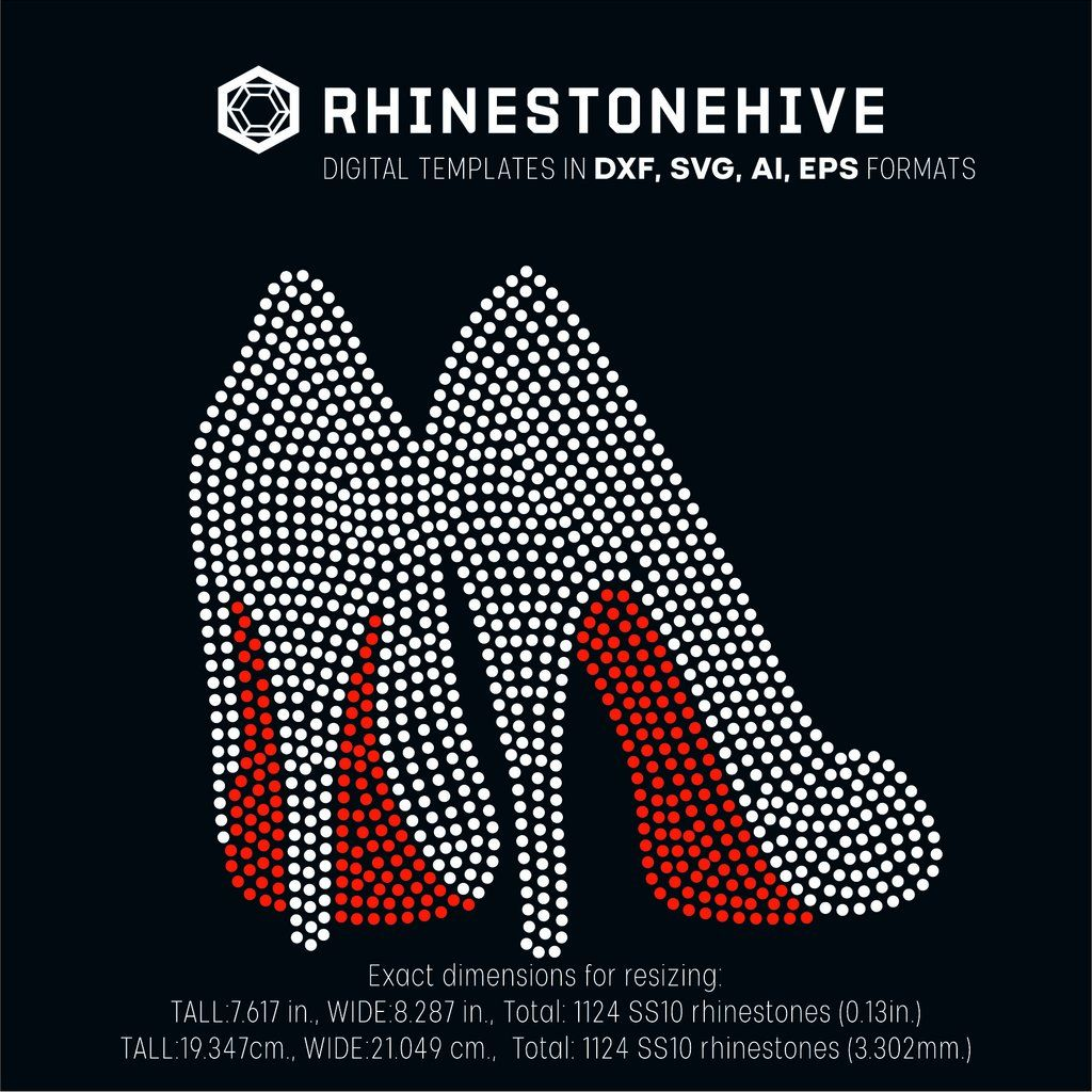 SS10 Rhinestone Church Girls Rock Rhinestone Template Instant Download Cricut File