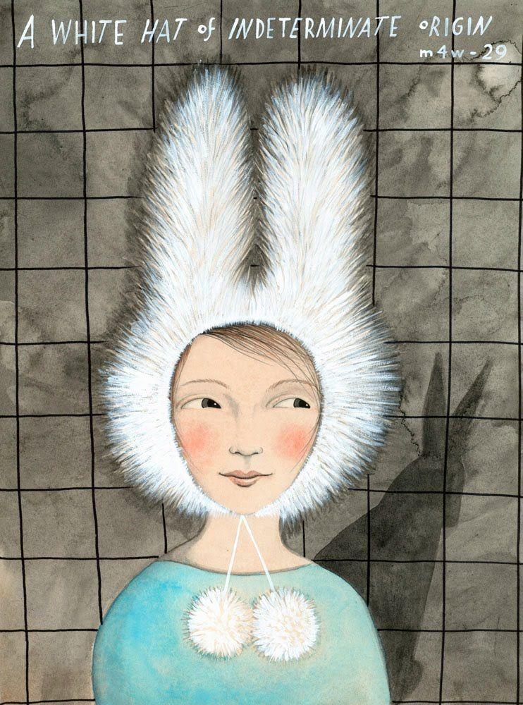 A White Hat of Indeterminate Origin Illustration
