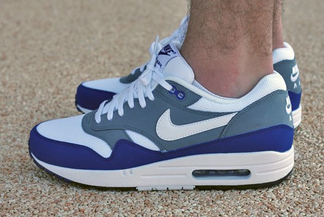 Coordinar Impermeable Creyente  Nike Air Max 1 Gris Bleu - Disponible - Sneakers.fr(画像あり)