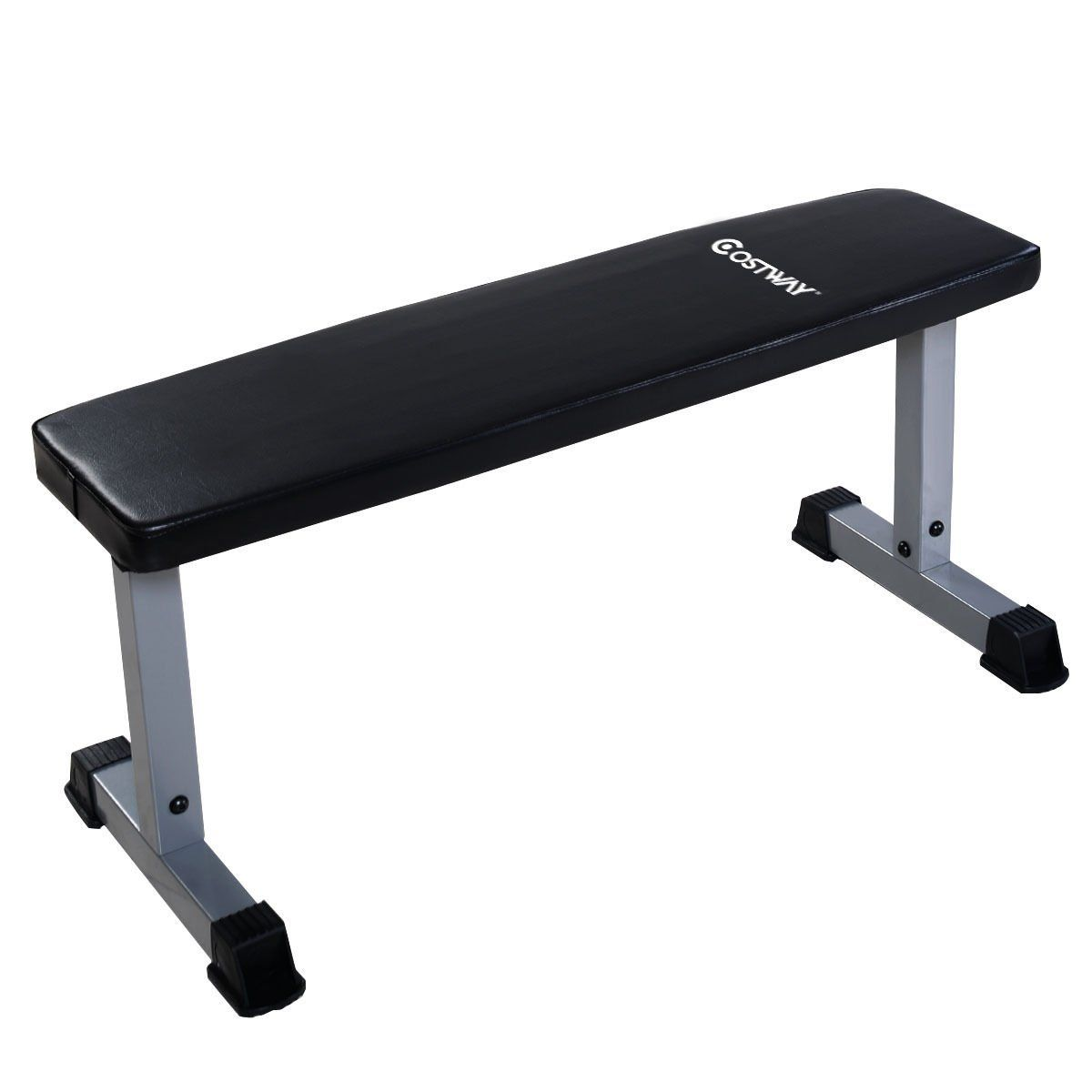 Goplus Sit Up Bench Flat Crunch Board Ab Abdominal Fitness Weight Exercise Weights Workout Sit Up No Equipment Workout