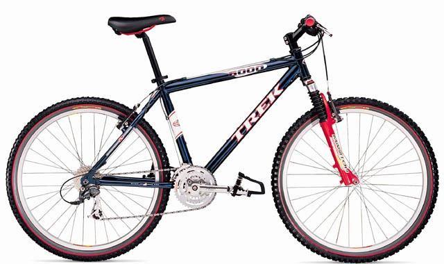 2000 Trek 6000 Travel Fun Bike Trek