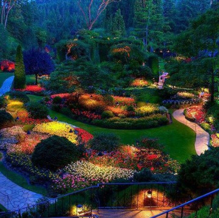 stunning butchart gardens | one of the most stunning places i've been || butchart ...