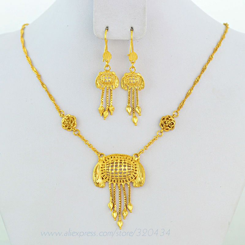 Find More Jewelry Sets Information about Lovely Saudi Newest Design