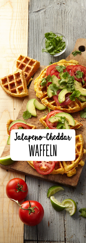 Photo of Jalapeno-Cheddar waffles