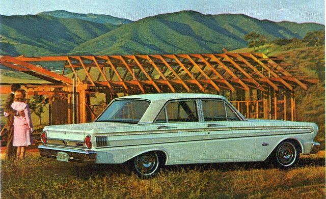 1964 Ford Falcon Futura 4 Door Sedan With Images Ford Falcon
