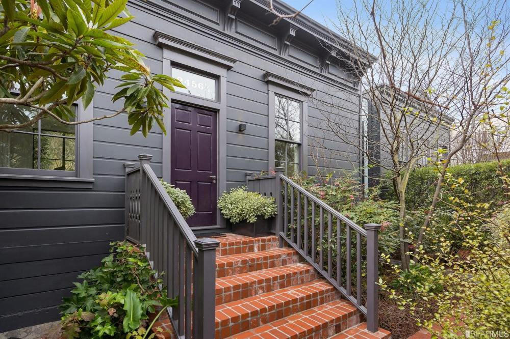 Listing 494102 2454 A Bush Street San Francisco Ca 94115 Single Family Home For Sale In 2020 Bush Street Home And Family Garden View