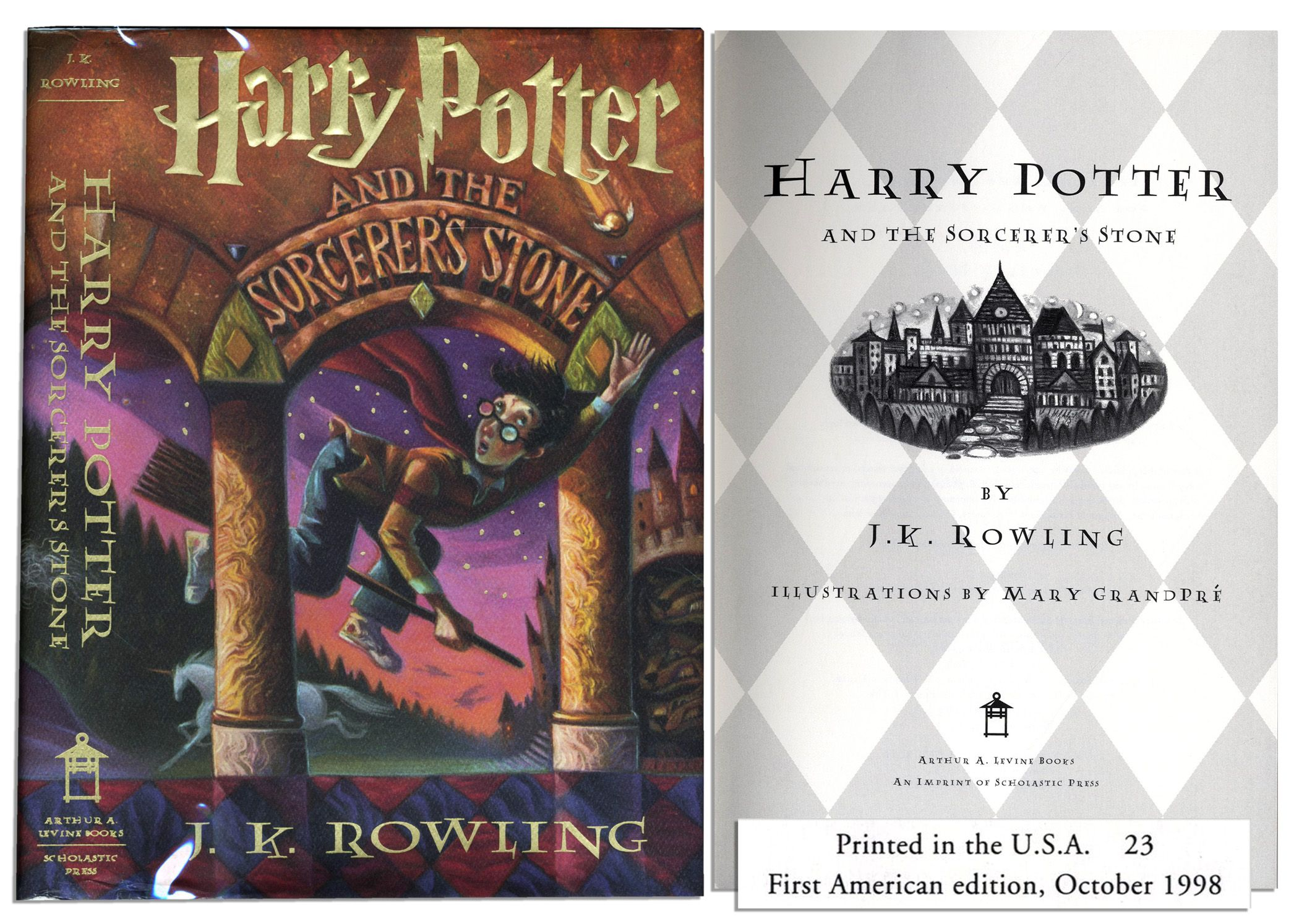Click To Close Image Click And Drag To Move Use Arrow Keys For Next And Previous Book Release Harry Potter First Edition Harry Potter Wiki