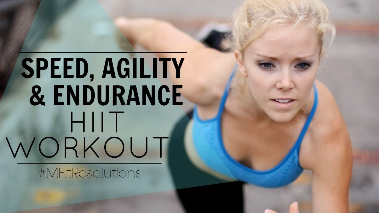 Speed, Endurance & Agility Workout | #MFitResolutions #agilityworkouts Speed, Endurance & Agility Workout | #MFitResolutions #agilityworkouts