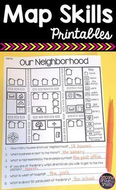 map skills reading maps printables map making task homeschooling information curriculum. Black Bedroom Furniture Sets. Home Design Ideas