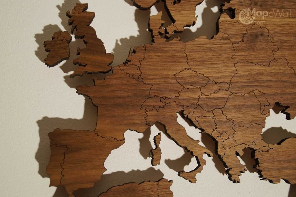 Wooden world map deco wall world map ideas pinterest decoratie en interieur - Deco hoofdslaapkamer ...