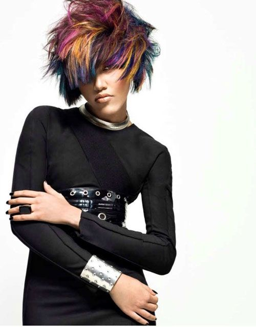 Couture Meets Coiffure An Homage To Chanel By Joico S Stella Livoti Creative Haircuts Artistic Hair Beautiful Hair Color