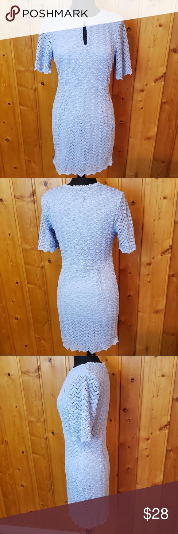 INA Lace Dress INA Lace Dress INA blue lace overla