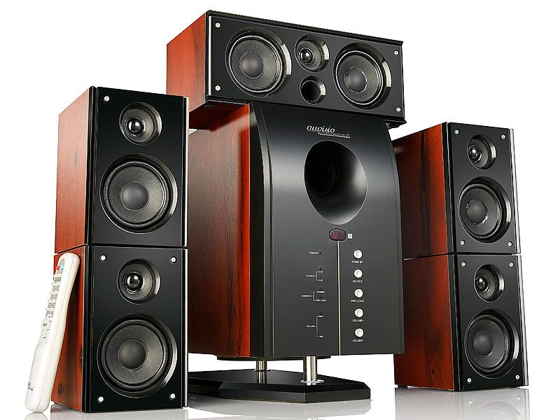 HOME-THEATER Surround-Sound-System 5.1