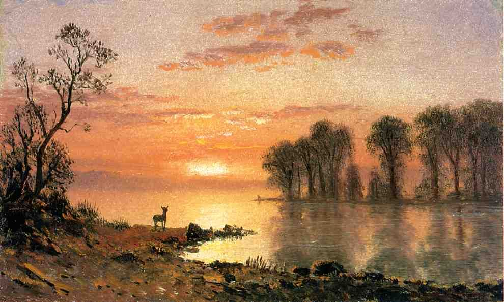 Mountain Lake Scene Painted Google Search Albert Bierstadt Albert Bierstadt Paintings Landscape Paintings Acrylic