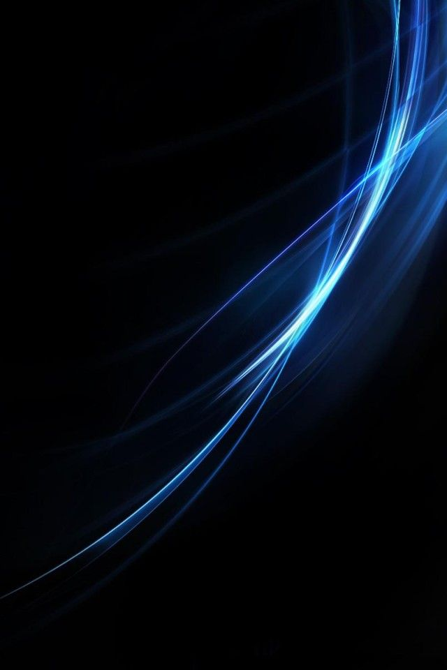 Neon Blue Apple Logo Wallpaper Dark Phone Wallpapers Blue Wallpapers