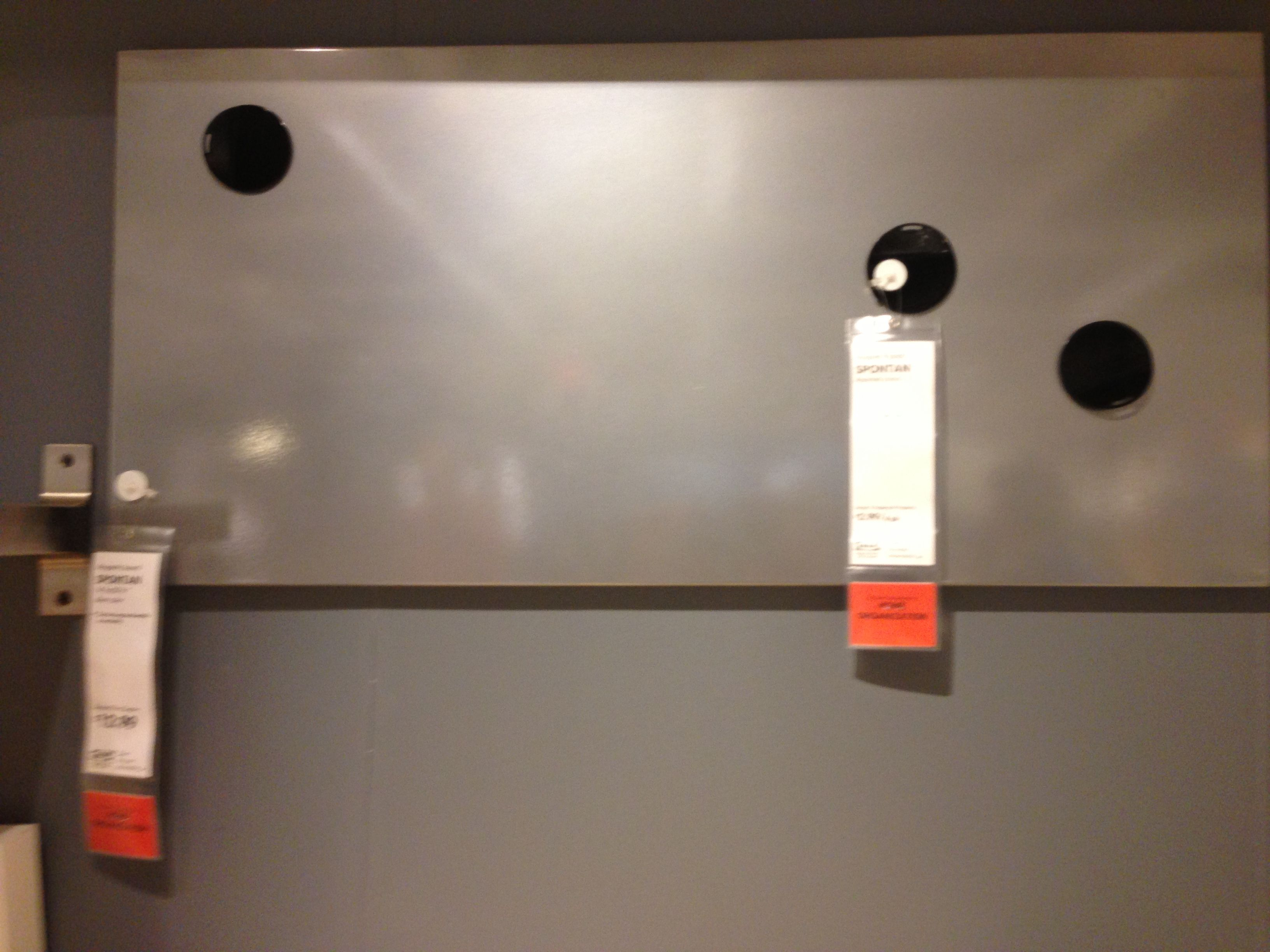 Spontan Magnetic Board For Mudroom, Kitchen Or Playroom