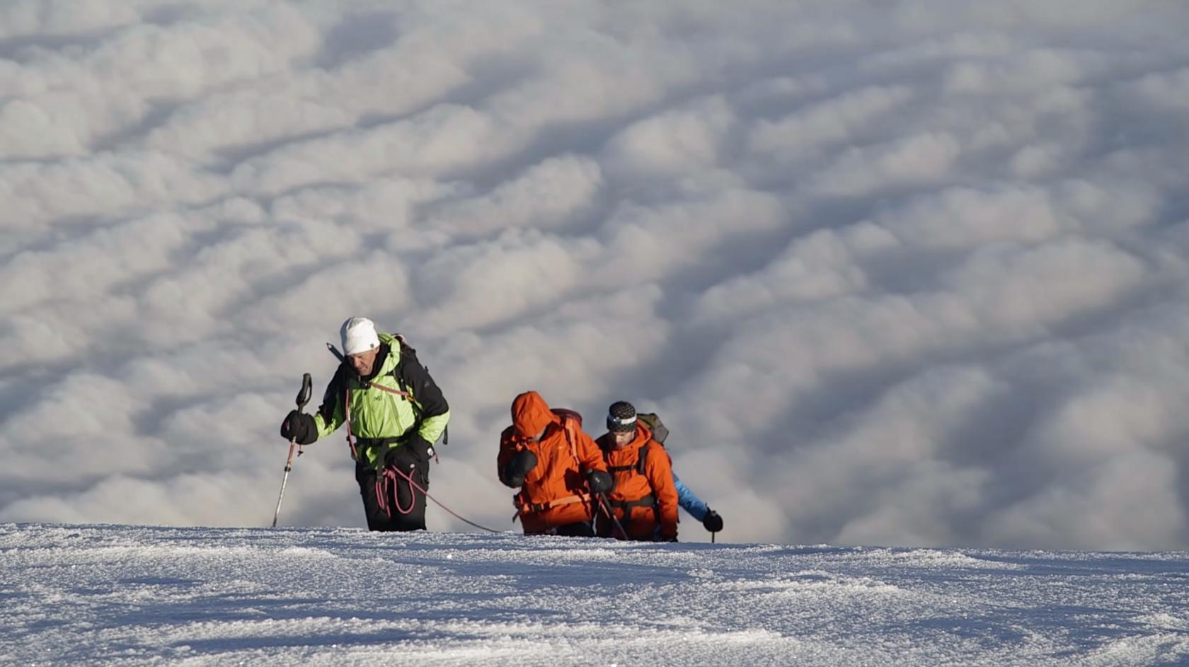 Mont Blanc 2014, Exploration En Cordee