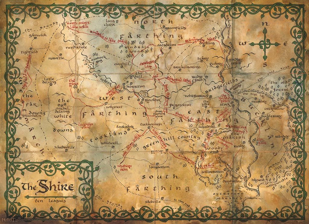 Map Middle Earth Tapestry Wall Hanging | Tapestries | The hobbit map ...
