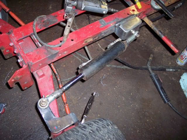 Image Result For Steering System For Garden Tractor