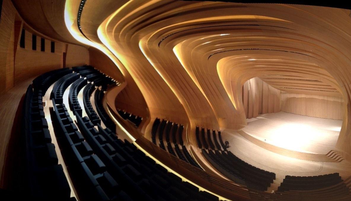 Notorious Fluid Design The Azerbaijan Cultural Centre By Zaha Hadid Architects Homesthetics Inspiring Ideas For Your Home Zaha Hadid Zaha Hadid Architects Zaha