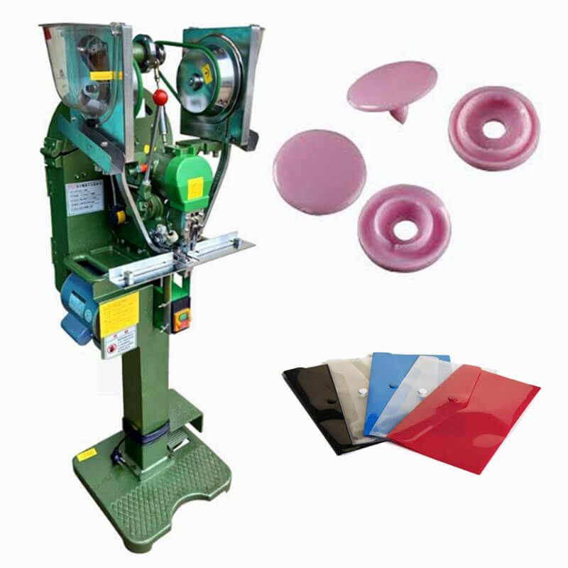 Plastic Button Fully Auto Snap Fastener Machine | Fully Snap