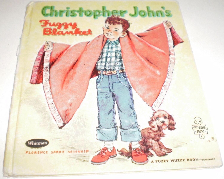 Christopher John's Fuzzy Blanket Vintage Fuzzy Wuzzy Tell-A