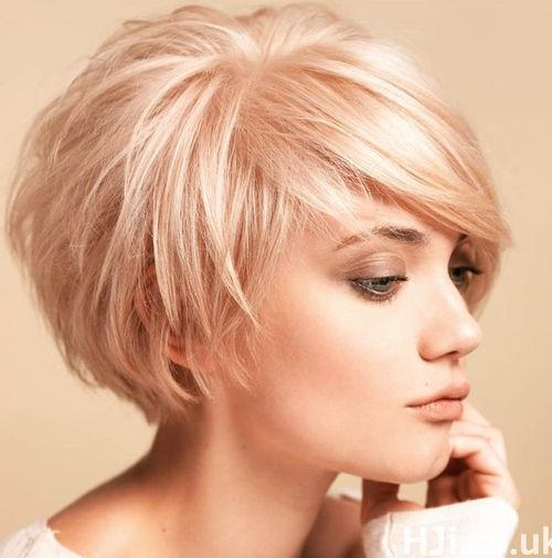 Short Layered Bob Hairstyles Stunning Short Tousled Blonde Bob  Beauty Tips 4 Me  Pinterest  Blonde