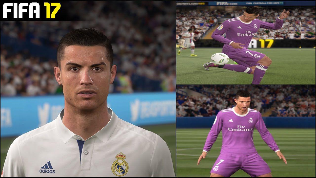 Fifa 17 Cristiano Ronaldo Goals Fifa 17 Cristiano Ronaldo