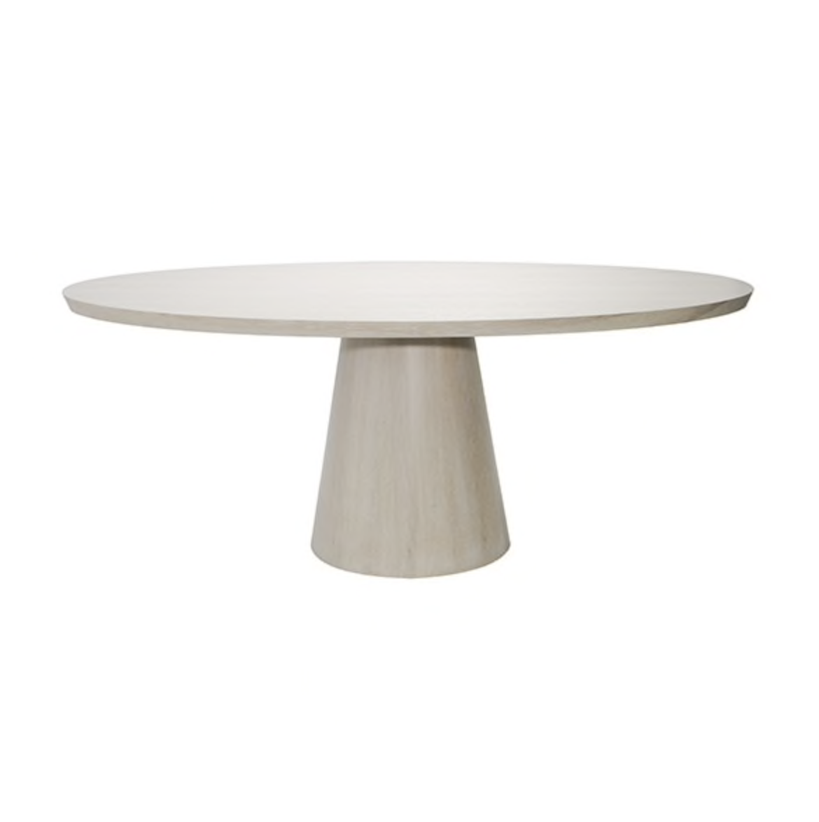 Jefferson Oval Dining Table Cerused Oak Oval Table Dining