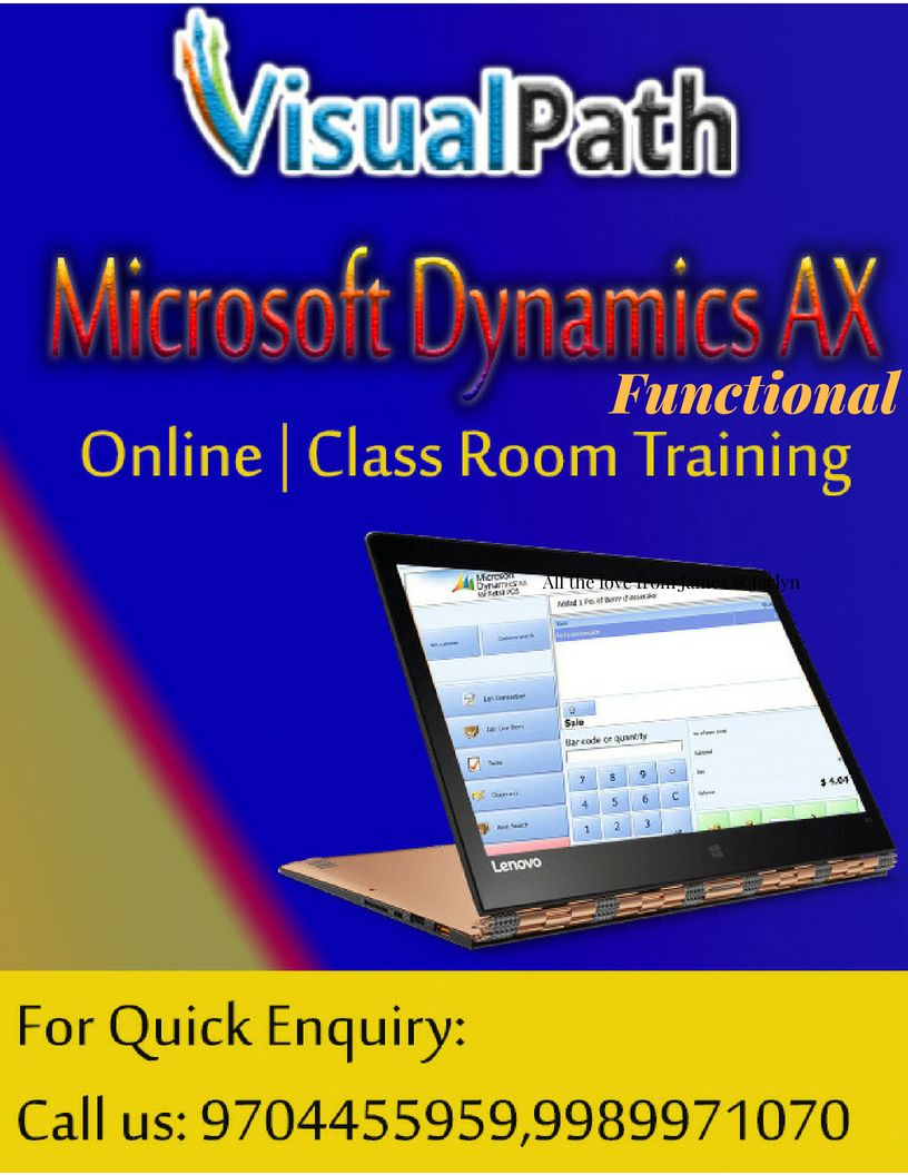 Visualpath is the one of the best institute for MS Dynamic