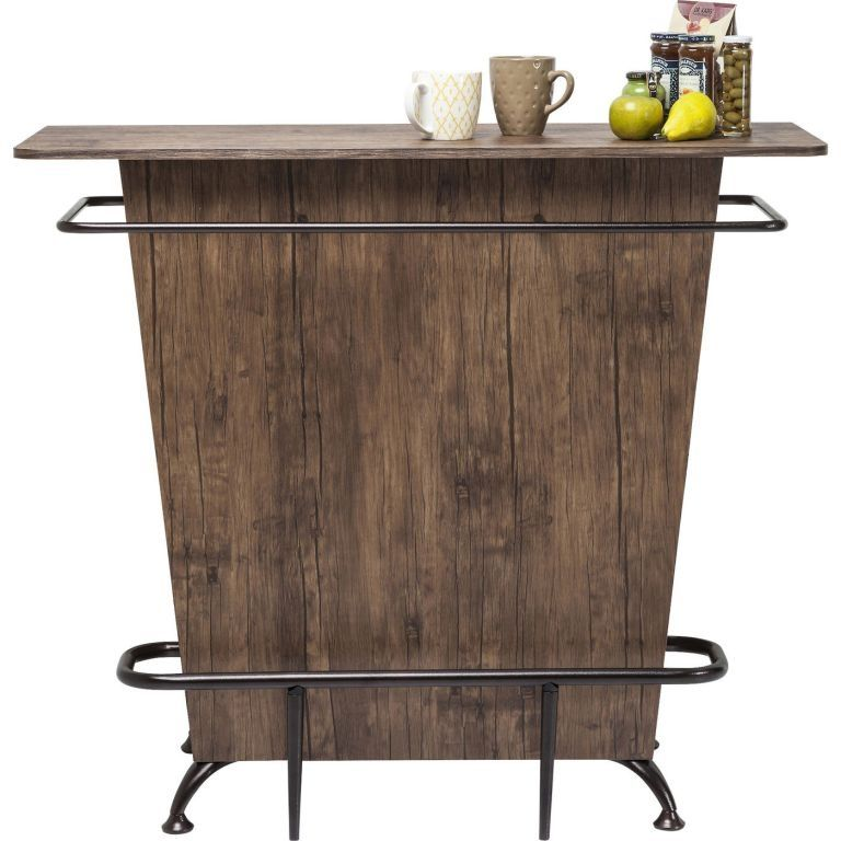 kare 80678 bar lady rock walnut bar theken und bartheke. Black Bedroom Furniture Sets. Home Design Ideas