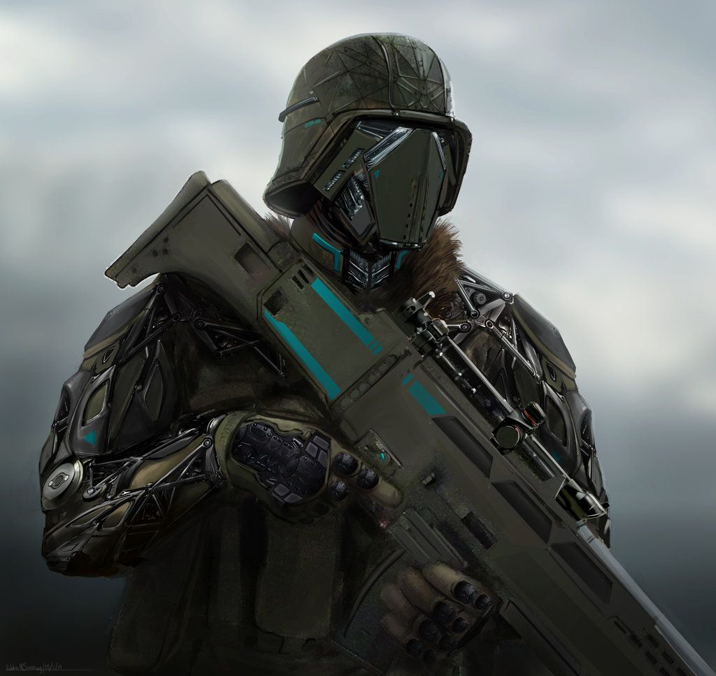 Futuristic Sci Fi Soldier Dude By Robbiemcsweeney On Deviantart Sci Fi Future Soldier Sci Fi Armor