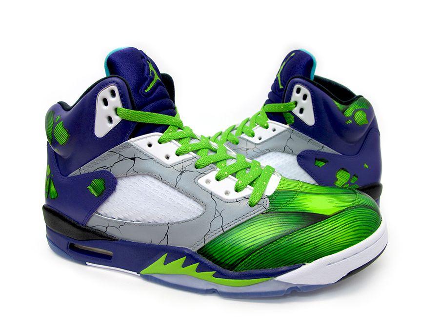 "Air Jordan 5 ""Smash"" Custom"