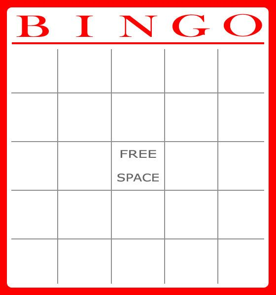 Free Bingo Card Template Download    Bingo Christmas Bible Word